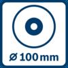 Đường kính đĩa 100 mm