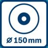 Đường kính đĩa 150 mm