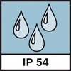 Cấp bảo vệ IP 54 Cơ chế bảo vệ chống bụi và bắn tóe IP54
