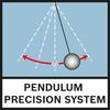 Hệ thống con lắc chính xác Hệ thống con lắc chính xác bao gồm các bộ phận dạng cứng, có độ chính xác cao và các bộ phận quang học có thiết bị giảm sốc