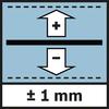 Dung sai 1 mm Độ chính xác đo ± 1 mm