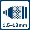 Mâm cặp kim loại 1.5 - 13.0mm