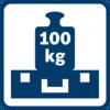 Cực mạnh mẽ Nắp có sức chịu tải tối đa 100 kg, mỗi BOXX có thể mang tối đa 25 kg