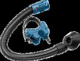 Đường ống dành để nối với bộ phận hút bụi