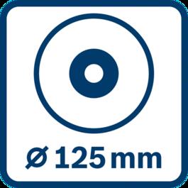 Đường kính đĩa 125 mm
