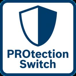 Bảo vệ người dùng vượt trội Công tắc bảo vệ tắt máy ngay lập tức khi nó được nhả