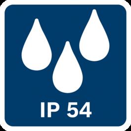 Khả năng chống bụi và tia nước IP54