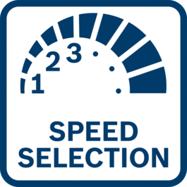 Có các kết quả làm việc tốt nhất với lựa chọn trước tốc độ Kết quả công việc tốt nhất với lựa chọn trước tốc độ cho các ứng dụng yêu cầu tốc độ theo vật liệu