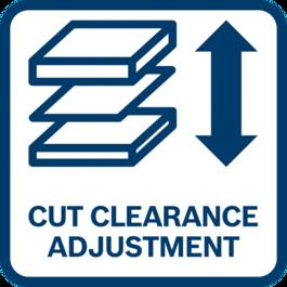 Điều chỉnh tối ưu nhờ khoảng hở cắt thiết lập được để phù hợp với độ dày của vật liệu