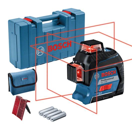 trong hộp mang với 4 pin (AA), tấm cọc tiêu laser